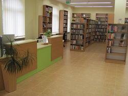 Biblioteka Tarnowo Podgórne - widok od wejścia